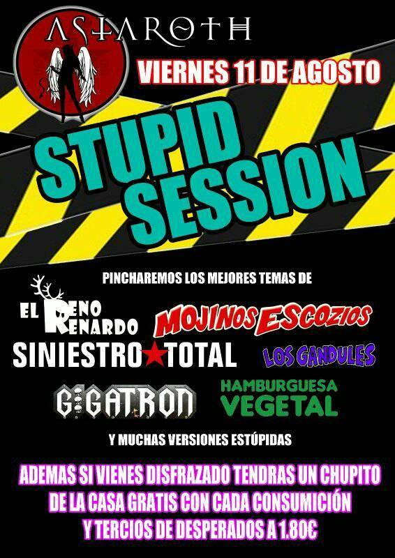 Stupid session, Astaroth, Salamanca