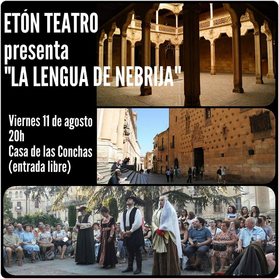 Etón Teatro, Casa de las Conchas