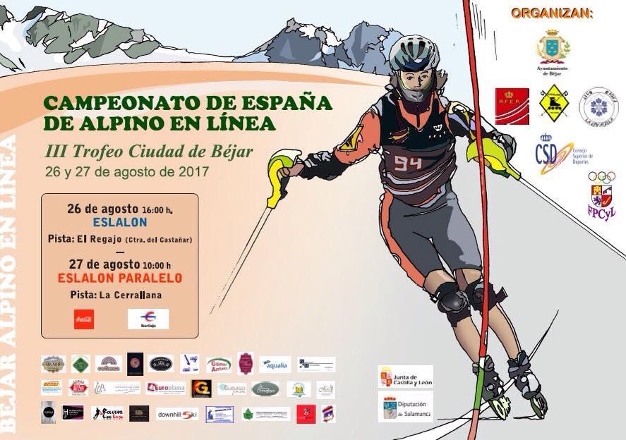 Campeonato de España de Alpino en Línea, Béjar