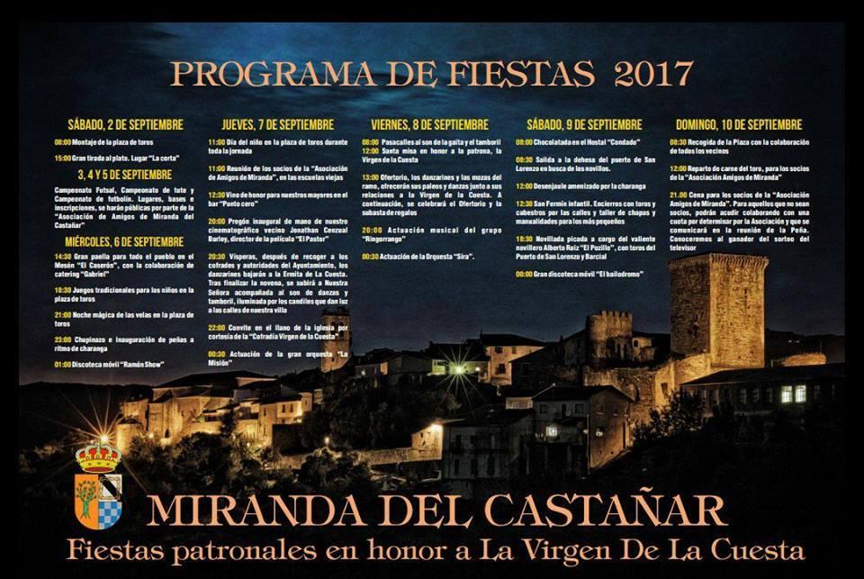 Miranda del Castañar 2017