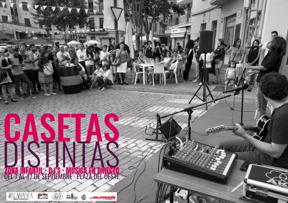 Casetas Distintas, Ferias y Fiestas 2017, Salamanca