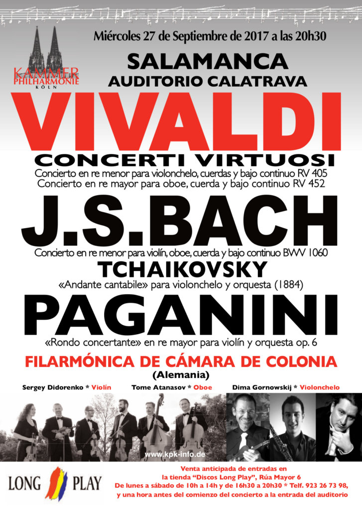 Orquesta de Cámara Filarmonía de Colonia, Salamanca