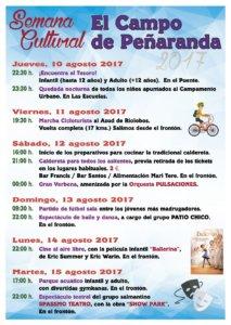 El Campo de Peñaranda, Semana Cultural, Agosto 2017