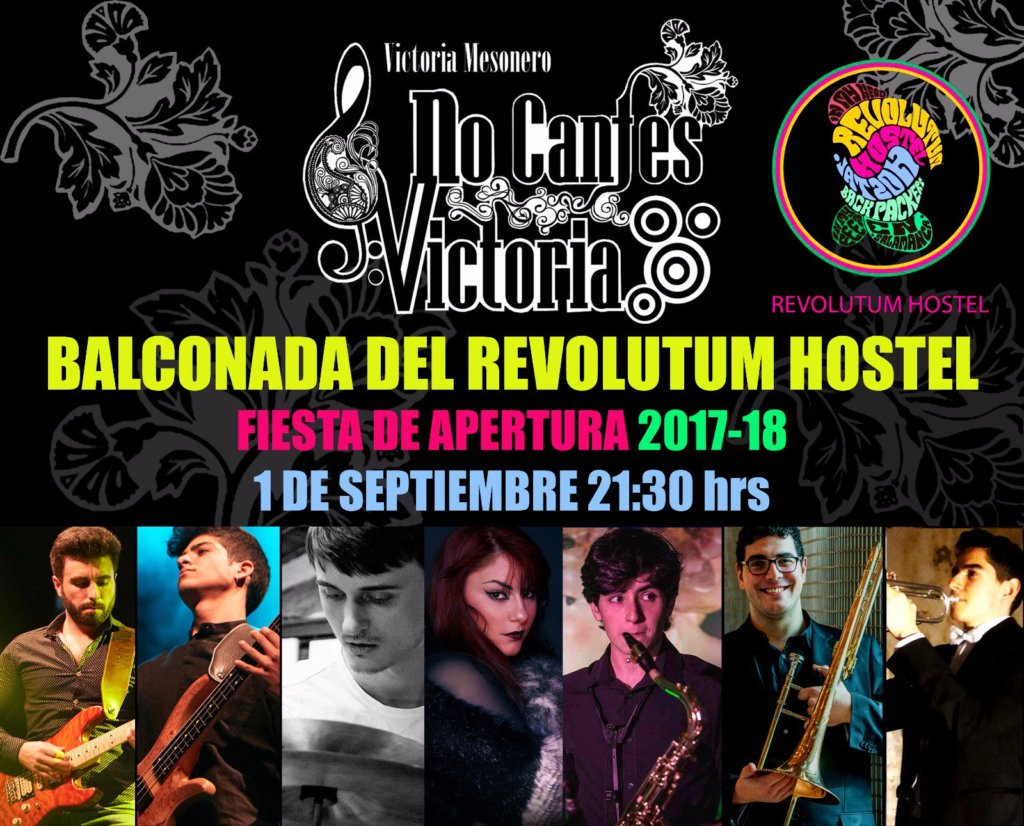 Balconada. Revolutum Hostel Salamanca
