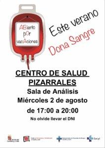 Jornada de Donación de Sangre, Salamanca