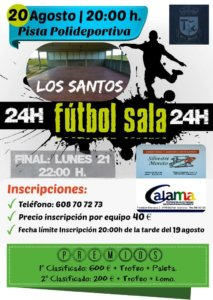 24 Horas de Fútbol Sala, Los Santos