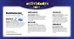 Babilafuente, Noches de Cultura 2017