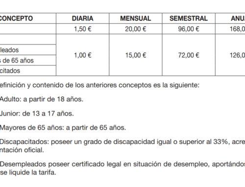 """La Alberca le """"pone precio"""" a su gimnasio municipal."""