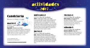 Candelario, Noches de Cultura 2017