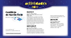 Castillejo de Martín Viejo, Noches de Cultura 2017