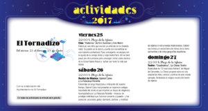 El Tornadizo, Noches de Cultura 2017