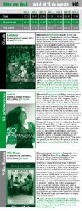 filmo Van Dyck 2017, del 4 al 10 de agosto