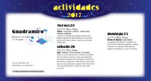 Guadramiro, Noches de Cultura 2017