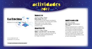 La Encina, Noches de Cultura 2017