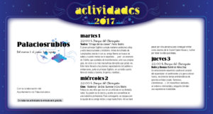 Palaciosrubios, Noches de Cultura 2017