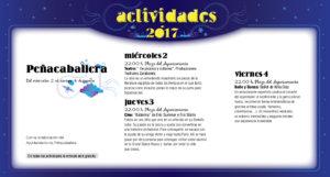 Peñacaballera, Noches de Cultura 2017