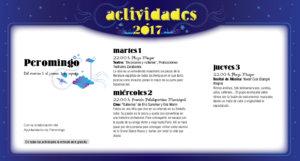 Peromingo, Noches de Cultura 2017