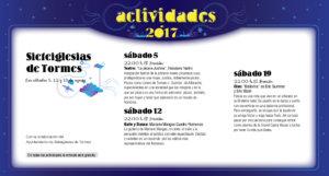 Sieteiglesias de Tormes, Noches de Cultura 2017