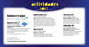 Sotoserrano, Noches de Cultura 2017