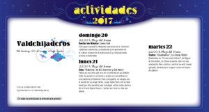 Valdehijaderos, Noches de Cultura 2017