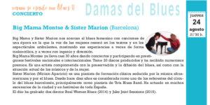 Big Mama Montse & Sister Marion, Salamanca