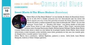 Sweet Marta & The Blues Shakers, Salamanca