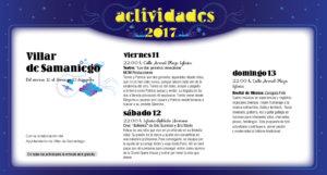 Villar de Samaniego, Noches de Cultura 2017