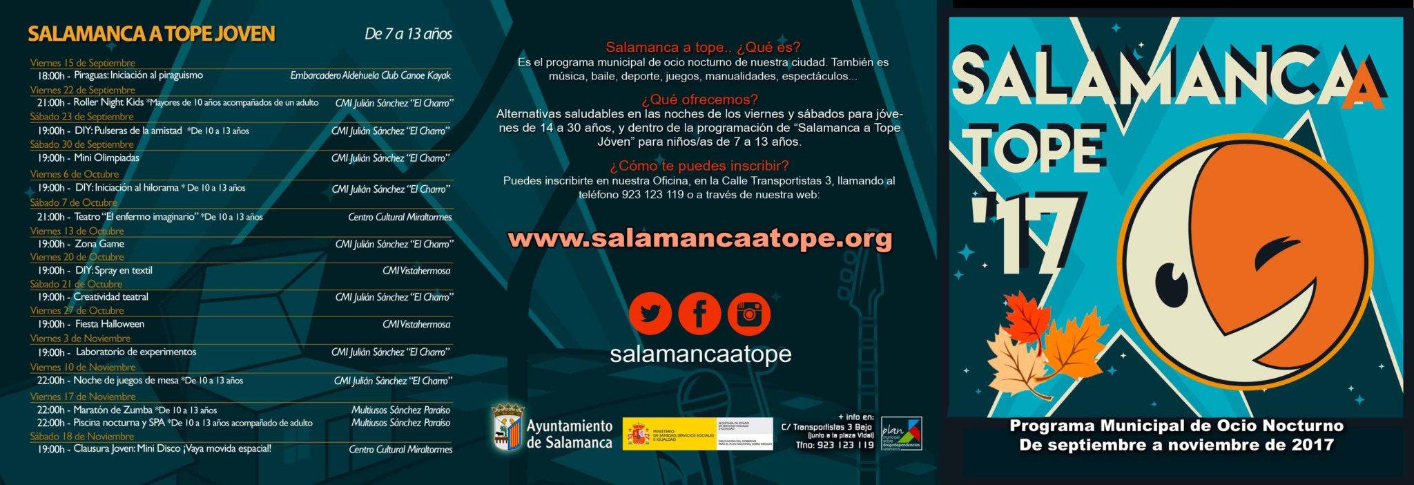 Salamanca a Tope 2017