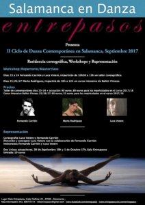 II Ciclo de Danza Contemporánea Salamanca en Danza Entrepasos Septiembre 2017