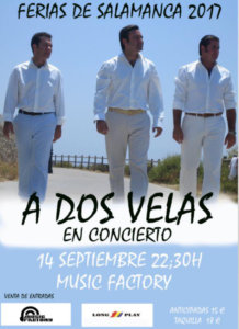 A Dos Velas, Music Factory, Salamanca 2017