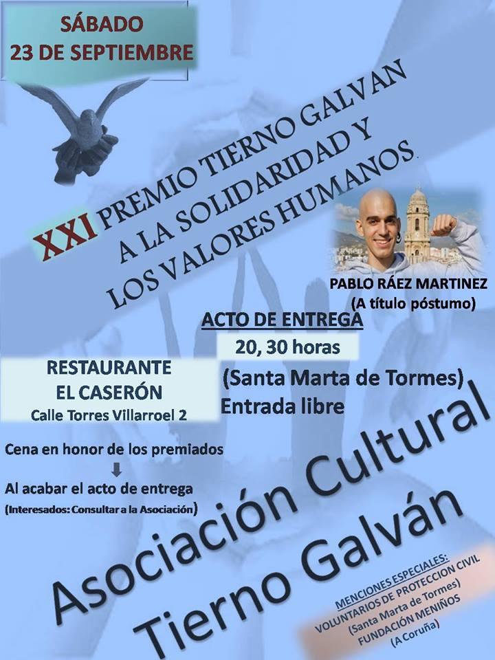 Asociación Cultural Tierno Galván, Septiembre 2017