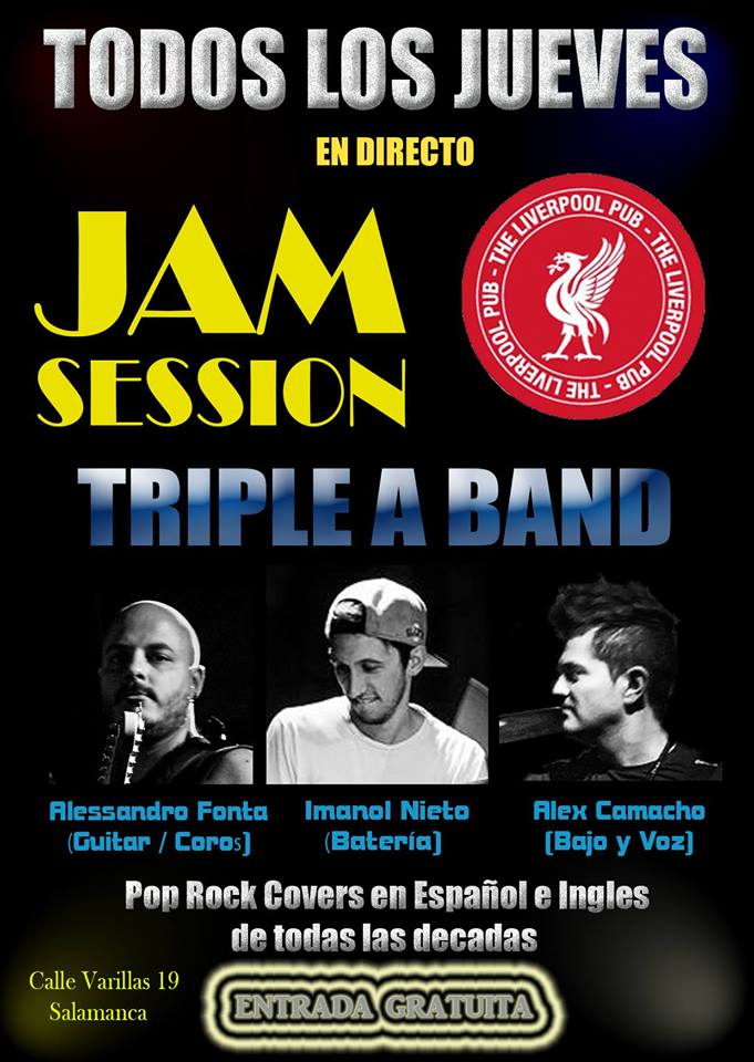 Jam Session The Liverpool Salamanca 2017