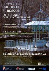 Conferencias, Proyecto Cultural El Bosque de Béjar, Casa de las Conchas