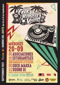Fiesta de Acogida Estudiantil ZOES September Fest Salamanca 2017