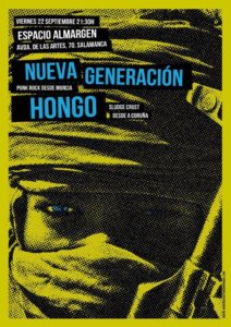 Nueva Generación + Hongo __Almargen Salamanca Septiembre 2017