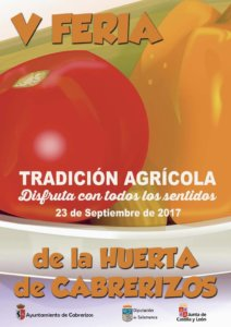 V Feria de la Huerta Cabrerizos Septiembre 2017