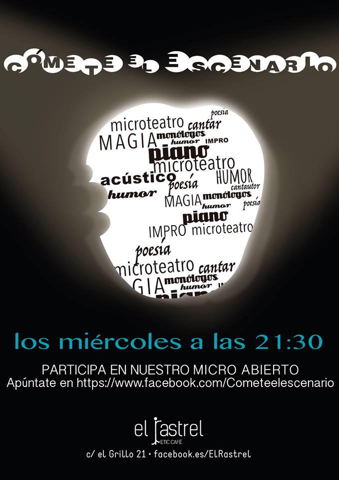 Cómete el escenario El Rastrel Salamanca 2017-2018
