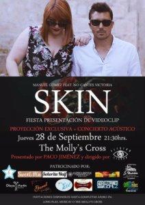 Manuel Gómez y No Cantes Victoria Skin The Molly's Cross Salamanca Septiembre 2017