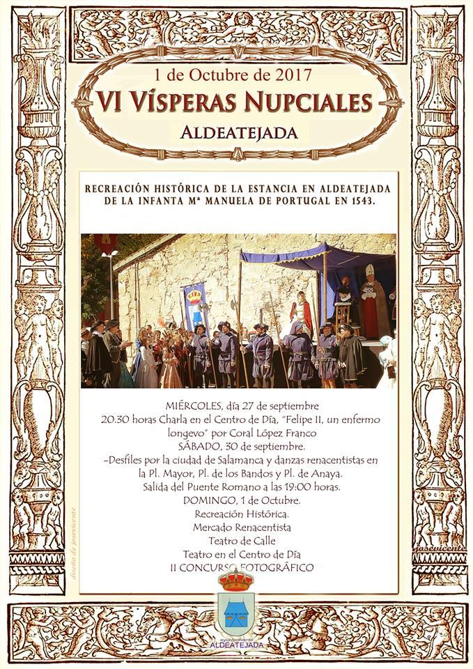 VI Vísperas Nupciales Aldeatejada 2017