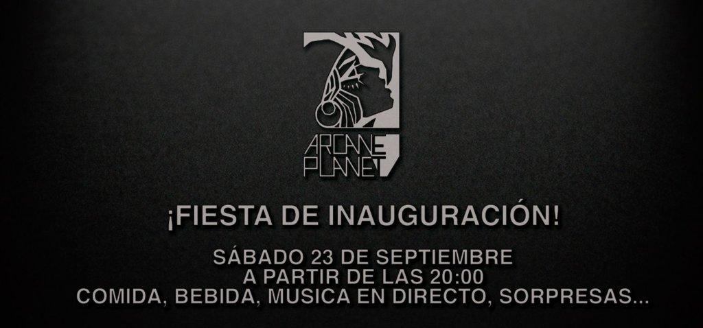 Fiesta de Inauguración Arcane Studios Planet Salamanca Septiembre 2017