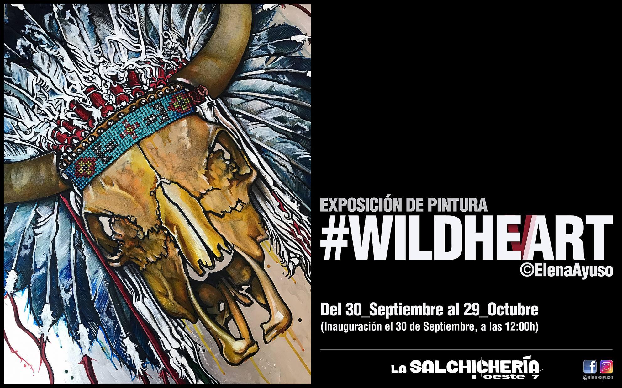 Elena Ayuso WildHeart La Salchihería Oeste 7 Salamanca Octubre 2017