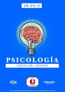 Fiesta del Novato Psicología Sala Torero Salamanca Septiembre 2017