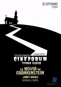 II Cinefórum Terror Clásico La novia de Frankenstein Serendípity Salamanca Octubre 2017