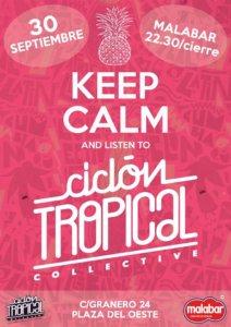 Ciclón Tropical Collective Malabar Salamanca Septiembre 2017