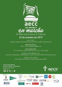 IV Marcha contra el Cáncer AECC Salamanca en marcha Octubre 2017