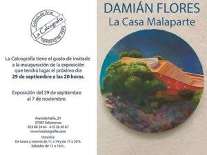 Damián Flores Llanos La casa Malaparte La Calcografía Salamanca 2017