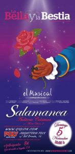 La bella y la bestial El musical Auditorio Calatrava Salamanca Noviembre 2017