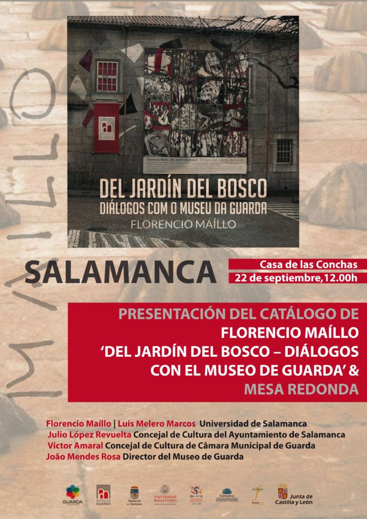 Florencio Maíllo Del jardín del Bosco Diálogos con el Museo de Guarda Casa de las Conchas Salamanca Septiembre 2017
