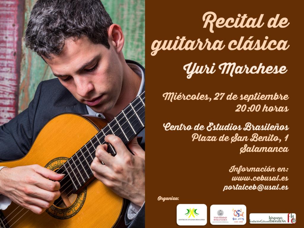 Yuri Marchese Centro de Estudios Brasileños Salamanca Septiembre 2017