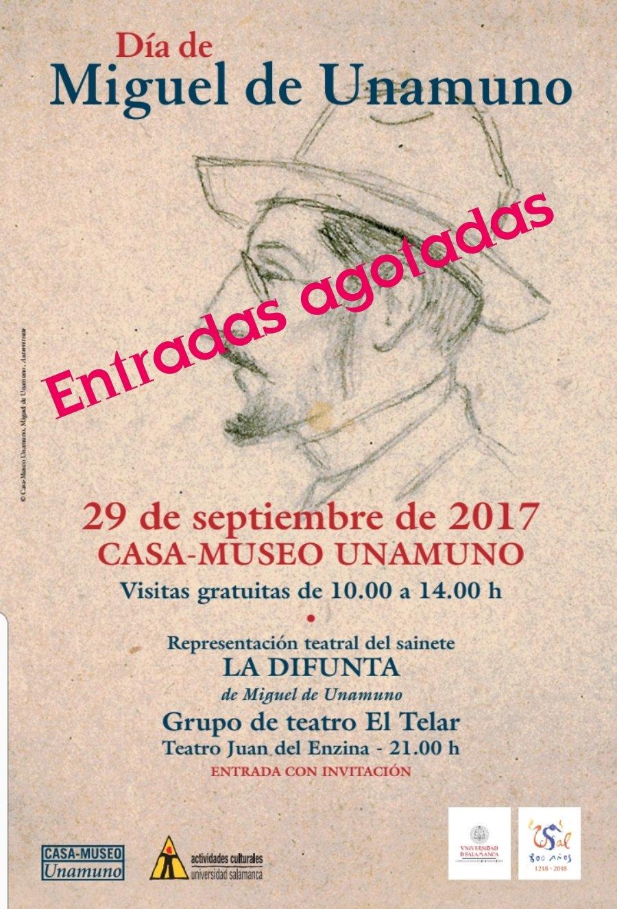 Día de Unamuno Universidad de Salamanca Septiembre 2017